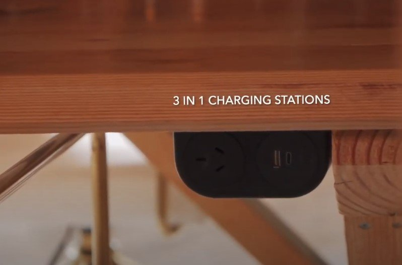 3-in-1 charging stations