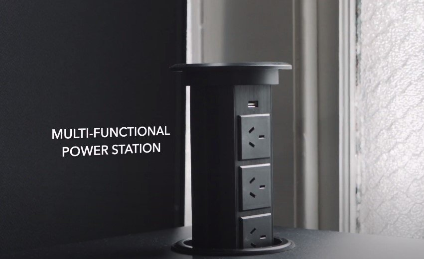 Multi-functional charging stations